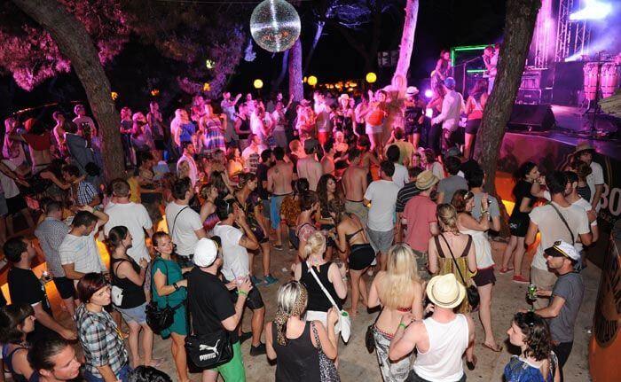 Party otok Obonjan