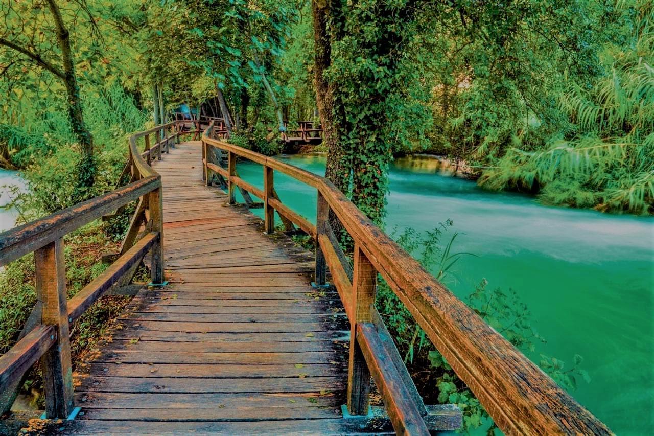Setnica nacionalnim parkom Krka